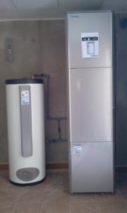 Instalación de altherma integrada