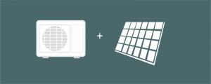Aerotermía fotovoltaica