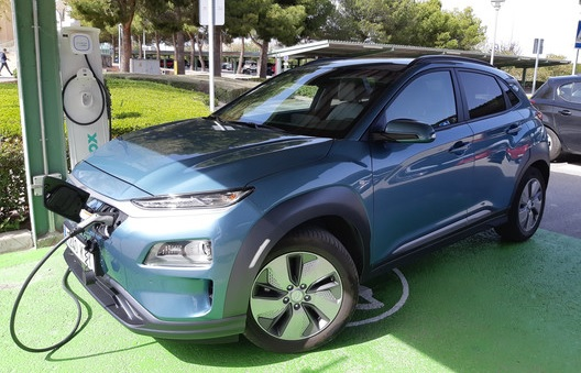Cargador coche electrico
