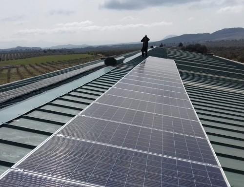 Autoconsumo eléctrico. Nueva instalación solar fotovoltaica en Jaen.